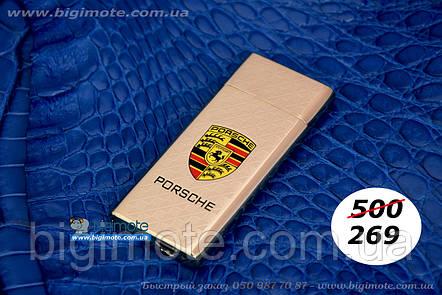 USB.Porschee, Зажигалка, электроимпульсная, електрозажигалка, порше, электрозапальничка, фото 2