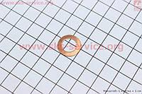 Шайба форсунки уплотнительная (медная) 10х16,4х0,20