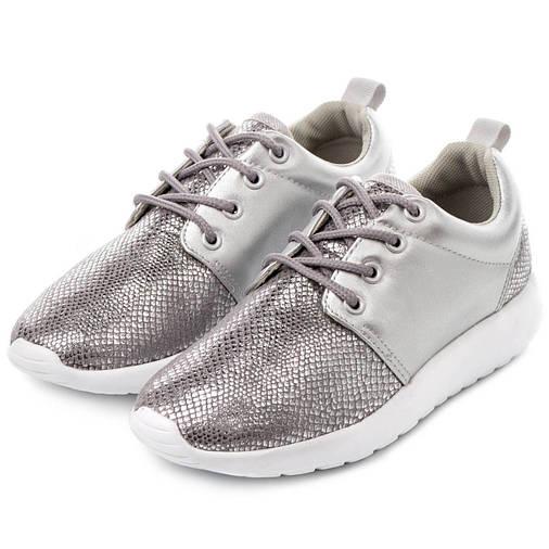 Жіночі кросівки Haidra 40 silvery, фото 2