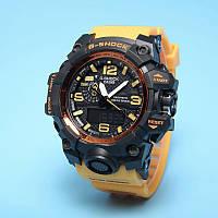 Спортивные наручные часы Casio G-Shock GWG-1000 Yellow Касио реплика