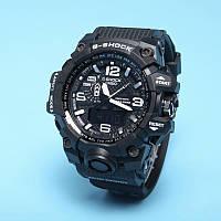 Спортивные наручные часы Casio G-Shock GWG-1000 Black White Касио реплика