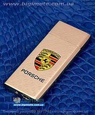 USB.Porschee, Зажигалка, электроимпульсная, електрозажигалка, порше, электрозапальничка, фото 3