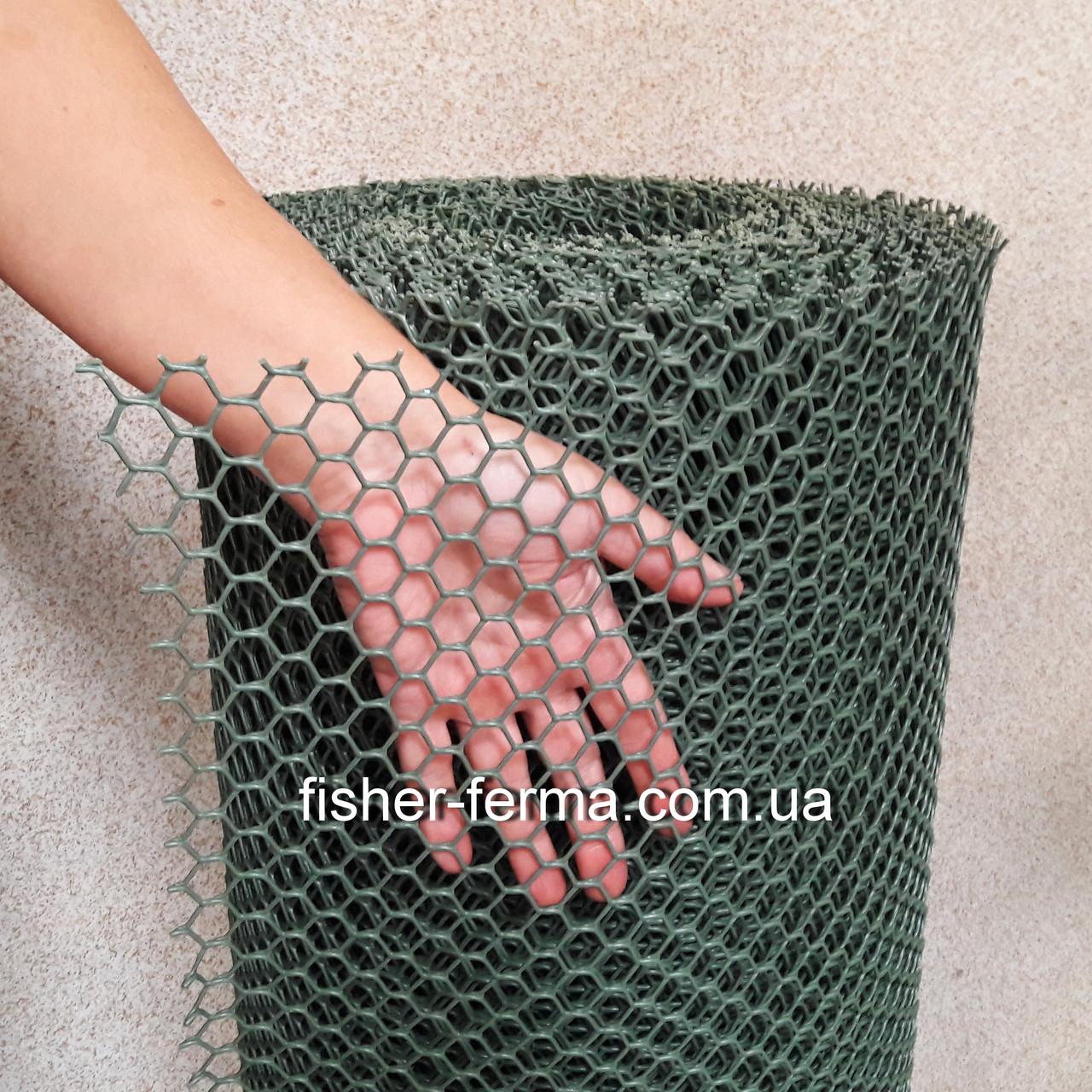 20х20х2мм - пластиковая сетка  (1х30 метров) - для ограждений