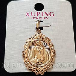 Кулон  икона xuping  30х23 позолота 18к