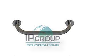 Поручень настенный прямой, длина 600 мм, ручка ∅32 мм, нержавеющая сталь.