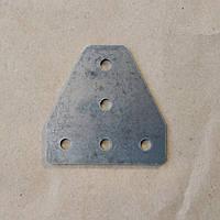 Пластина з'єднувальна, Т-образна для профілю 20, стальна (угловой соединитель)