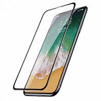 Защитное стекло для iPhone X Baseus 0.23mm Drop-proof Curved Full Screen Tempered Glass Film Black