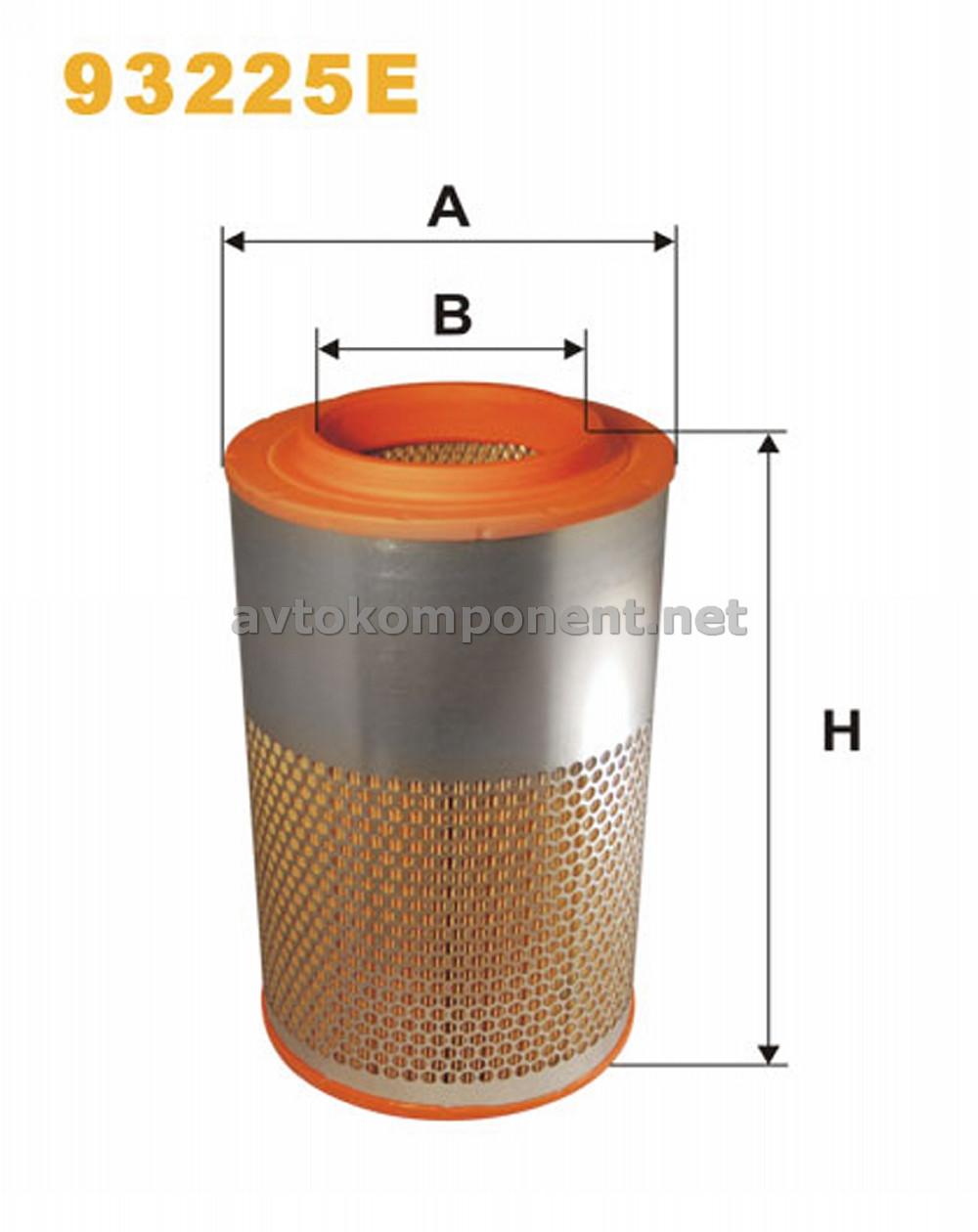 Фильтр воздушный DAF 93225E/AM447/5 (производство WIX-Filtron) (арт. 93225E), ADHZX
