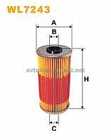 Фильтр масляный Mercedes-Benz (MB) WL7243/OM591/1 (производство WIX-Filtron) (арт. WL7243), AAHZX