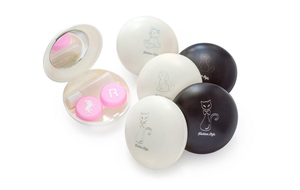 Дорожный набор для контактных линз «Домашние любимцы»