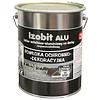 Гидроизоляционная декоративная кровельная мастика IZOBIT ALU, 4,5кг