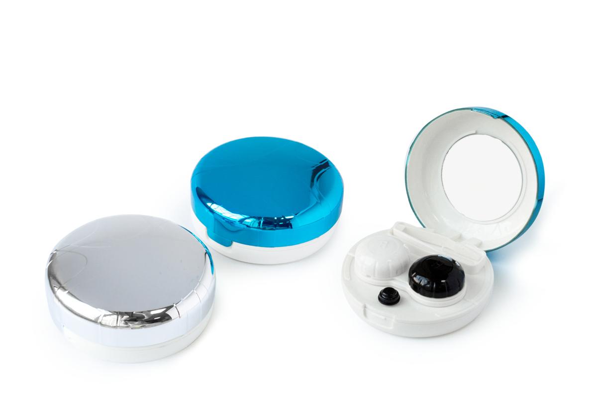 Дорожный набор для контактных линз «Птичье гнездо» c ультразвуковой очисткой
