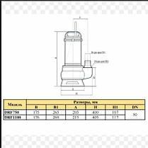 Дренажно-фекальный насос Rudes DRF 1100, фото 3