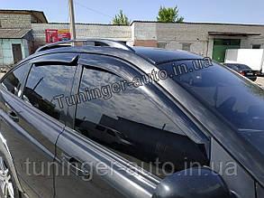 Ветровики, дефлекторы окон  Ssang Yong Actyon 2005-2012/2012- г.в. (AutoClover/Корея )