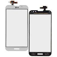 Тачскрин для LG E980 Optimus G Pro/E985/E986/E988/F240, белый, оригинал (Китай)