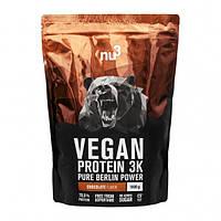 Уценка (Дата EXP 06\19) Nu3 Vegan Protein 3K 1000 g (Шоколад)