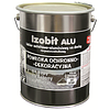 Гидроизоляционная декоративная кровельная мастика IZOBIT ALU, 18кг