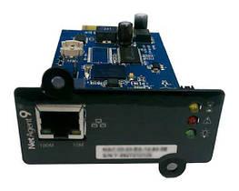 SNMP-адаптер NetAgent (CY504) 1-port, для однофазных ИБП Powercom