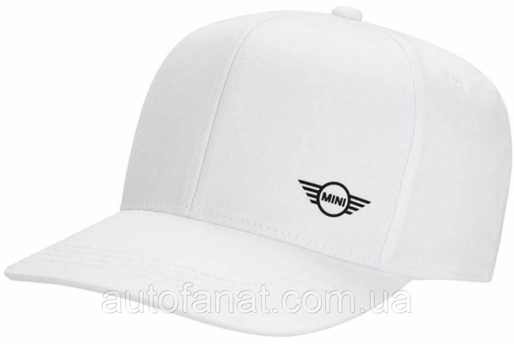 Оригинальная бейсболка MINI Cap Signet White (80162445651)