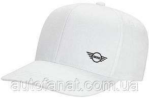 Оригинальная бейсболка MINI Cap Signet White (80162445651)