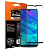 Защитное стекло Spigen для Huawei P Smart 2019 GLAS.tR Full Cover, Black (L40GL26096)