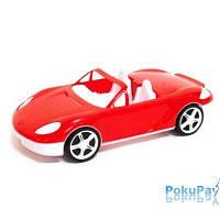 Машина кабриолет, Красная 46см (3шт/уп) КВ