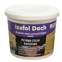 Кровельная изоляционная мастика IZOFOL DACH, 4кг