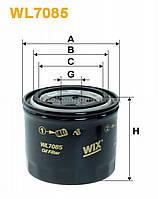 Фильтр масляный MATIZ WL7085/OP539 (производство WIX-Filtron) (арт. WL7085), AAHZX