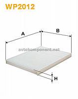 Фильтр салона KIA VENGA (производство WIX-Filtron) (арт. WP2012), ABHZX
