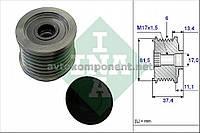 Механизм свободного хода генератора FIAT (производство Ina) (арт. 535 0023 10), AEHZX
