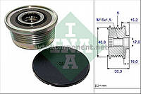Механизм свободного хода генератора OPEL,RENAULT (производство Ina) (арт. 535 0048 10), AEHZX