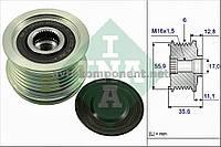 Механизм свободного хода генератора AUDI, Volkswagen 1.8T, 2.0T (производство Ina) (арт. 535 0041 10), AEHZX