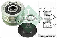 Механизм свободного хода генератора DACIA (производство Ina) (арт. 535 0116 10), AEHZX