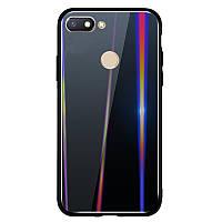 TPU+Glass чехол Gradient Aurora для Xiaomi Redmi 6, фото 1