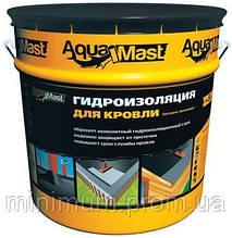 Мастика битумно-резиновая для кровли Aguamast, 18кг