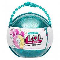 Жемчужный шар кукла ЛОЛ Surprise LOL Pearl Surprise морской сезон 7 в 1
