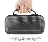 Чехол кейс под Carbon для Nintendo Switch с ручкой / Есть стекла /, фото 3