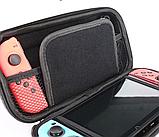 Чехол кейс под Carbon для Nintendo Switch с ручкой / Есть стекла /, фото 6