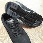 Кроссовки Bonote текстиль сетка чёрные р.46, фото 4