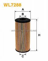Фильтр масляный WL7288/OE640/6 (производство WIX-Filtron) (арт. WL7288), AAHZX