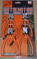 Набор щипцов (сьемников)(4шт) для снятия и установки стопорных колец 180 мм