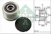 Механизм свободного хода генератора DACIA (производство Ina) (арт. 535 0105 10), AEHZX