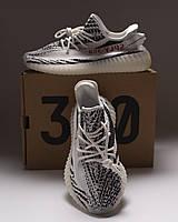 Adidas Yeezy Boost sply-350 V2 Zebra | кроссовки мужские и женские; летние; зебра