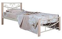 Кровать односпальная металлическая Эмили  Melbi. Ліжко односпальне металеве
