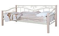 Кровать тахта металлическая односпальная Эмили Melbi. Ліжко односпальне металеве