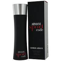 Мужская туалетная вода Giorgio Armani Armani Sport Code 125 мл