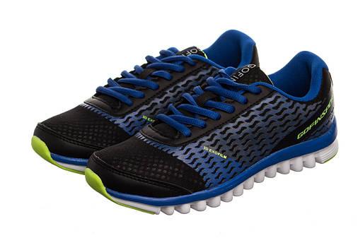 Жіночі кросівки Gofin 38 black-blue, фото 2