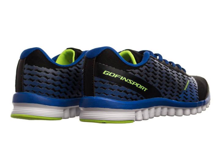Жіночі кросівки Gofin 38 black-blue, фото 3