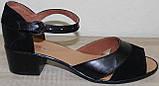 Женские босоножки кожаные большие размеры от производителя модель ВБ111, фото 2