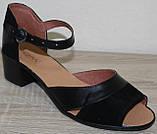 Женские босоножки кожаные большие размеры от производителя модель ВБ111, фото 3
